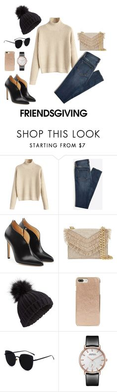 """friendsgiving"" by sadianushrat ❤ liked on Polyvore featuring Chloe Gosselin, Cynthia Rowley, Miss Selfridge and Kate Spade"
