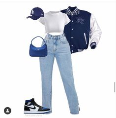 Swaggy Outfits, Boujee Outfits, Swag Outfits For Girls, Kpop Fashion Outfits, Retro Outfits, Cute Casual Outfits, Polyvore Outfits, Stylish Outfits, Street Mode