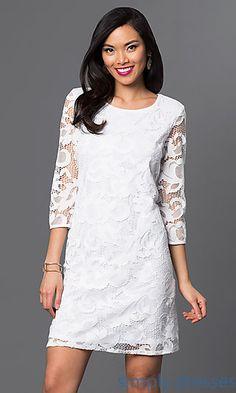 Tiana b lace dress notte