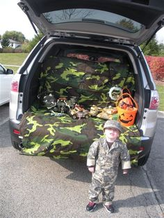 Trunk or Treat decor idea