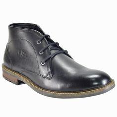 Valentino Genuine Leather TORQUE77BLK Men Formal Shoes