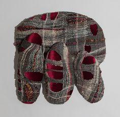 Shoe Closet: Red-Gray by Juliet Martin