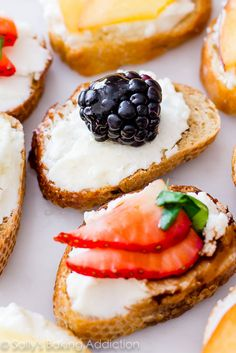 Goat Cheese & Fruit