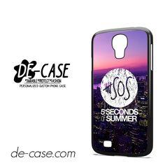 5 Seconds Of Summer 5SOS 5 SOS City Logo For Samsung Galaxy S4 Case Phone Case Gift Present YO