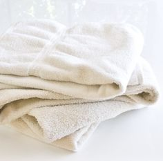 Naturally Whiten and Brighten Grubby Towels
