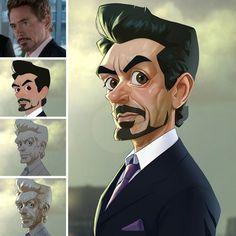 Geektastic Marvel Character Caricatures [Pics]