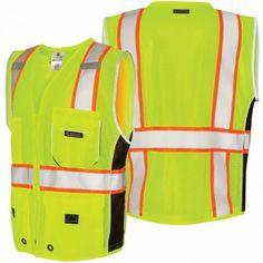 ML Kishigo 1513/1514 Black Series Heavy Duty ANSI Class 2 Safety Vest, $20