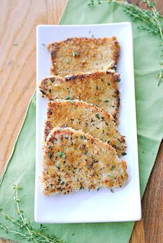 Herb crusted pork chops could use 8 boneless pork chops, some vegetable oil and some itallian seasoning for a quick and easy dinner.  all you would have to do is heat the oil on medium and cook the pork chops for 4 to 5 minutes on each side