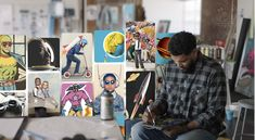 Meet Flyboy: A new kind of superhero created by Chicago street artist Hebru Brantley with a little help from Pinterest. Enter the Flyboy Universe in the 2nd episode of our #TheBoardBehind series 🚀