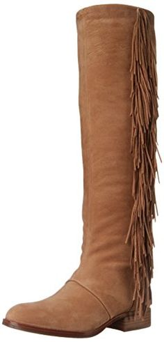 Sam Edelman Women's Josephine Slouch Boot, Golden Caramel, 7 M US High Leather Boots, Leather Heels, Sam Edelman Boots, Edelman Shoes, Fringe Boots, Motorcycle Boots, Dress Sandals, Thigh High Boots, Designer Shoes