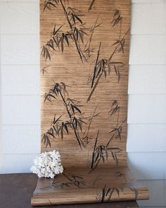 Vintage Asian bamboo wallpaper by SadRosetta on Etsy More