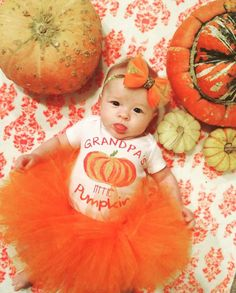 OUR LITTLE PUMPKIN Thanksgiving Halloween by ThePineTorch on Etsy