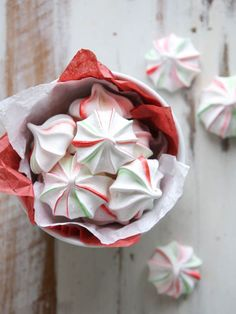 These festive peppermint meringues are super simple and naturally fat-free! Now that I have kids of my own, Christmas has taken on a whole new layer of fun. Sure there's the stress of shopping and coordinating all the holiday activities, but I also get to relive my childhood all over again. My children hang my …
