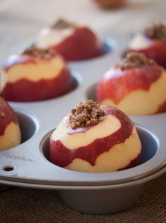 Stuffed Apples! Recipe calls for some stuff ive never heard of but sure ou can use others, gonna try it!