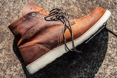 #RedWing #Heritage 9111 Copper Rough and Tough #roundtoe #leather #workboots #boots