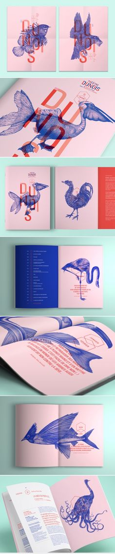 Les produits de l'épicerie… editorial layout design brochure color typography