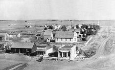 Dorrance, Kansas - 1910 (population: Reminds me of the town my Grandparents helped make in the early They came from Norway. Old Photos, Vintage Photos, State Of Kansas, Small Town America, Bunker Hill, Home On The Range, Our Town, Bad Person, Pictures Images