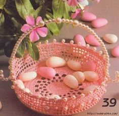 Welcome, The community is designed for those who like to crochet. Easter Crochet, Crochet Designs, Easter Baskets, Crochet Hooks, Crochet Baskets, Serving Bowls, Decorative Bowls, Knitting Patterns, Seasons