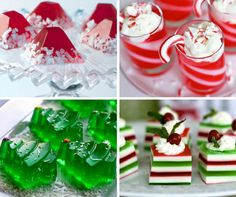 16 Jello shots for Christmas - holiday jelly shots