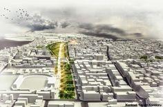 2. Ödül - Ödemiş Belediyesi Kent Merkezi ve Yakın Çevresi Ulusal Mimarlık ve Kentsel Tasarım Fikir Proje Yarışması - kolokyum.com