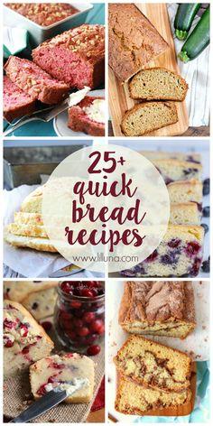 25+ Quick Bread Reci