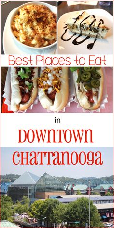 Wondering where to eat in Chattanooga? We just returned from another trip to Chattanooga so I thought I'd highlight some of the best places to eat in the Downtown Chattanooga area. Are you ready to drool over these Chattanooga restaurants? 1. The Blue...