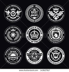 Find Heraldic Elements Insignia Signs Quality Icon stock images in HD and millions of other royalty-free stock photos, illustrations and vectors in the Shutterstock collection. Thousands of new, high-quality pictures added every day. Find Logo, Logo Images, Free Vector Art, Royalty Free Stock Photos, Signs, Stamps, Seals, Logo Pictures, Shop Signs