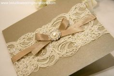 The Bride's Diary Canberra: Vintage Glamour Wedding Stationery Make Your Own Wedding Invitations, Lace Wedding Invitations, Wedding Stationary, Wedding Programs, Wedding Cards, Wedding Favors, Diy Wedding, Dream Wedding, Wedding Ideas