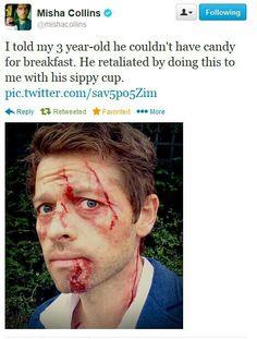 Poor misha