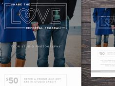 Photographer Marketing Template for Client Referrals