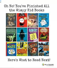 What to read when you've read all the Wimpy Kid books