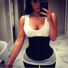 465c4ab854b Kim can t get enough.start your Waist Training journey today!