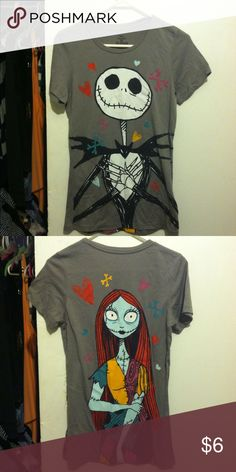 The nightmare before Christmas Double sided nightmare before Christmas top ! No holes or stains ! Tops Tees - Short Sleeve