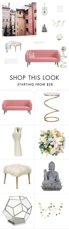 """""""Untitled #476"""" by simplyskie on Polyvore featuring interior, interiors, interior design, home, home decor, interior decorating, CB2, Safavieh, Universal Lighting and Decor and Pier 1 Imports"""