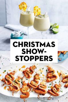 From drinks to desserts, moutwatering mains to sides and salads, these are the festive recipes you want on your must-make list this year. New Year's Desserts, Cute Desserts, Christmas Desserts, Christmas Brunch, Simple Christmas, Christmas Art, Dessert Recipes, Christmas Decorations, Xmas