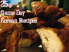 25+ Game Day Korean Recipes