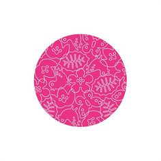 @rosenberryrooms is offering $20 OFF your purchase! Share the news and save!  Seasons Round Rug in White and Pink #rosenberryrooms