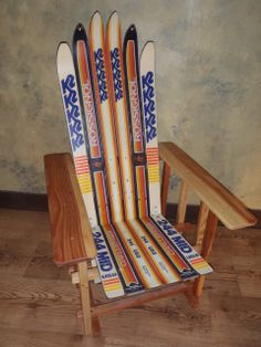 Forest Furniture Tahoe - Ski Chair Mission Style, $275.00 (http://www.forestfurnituretahoe.com/products/ski-chair-mission-style.html)