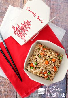 Cauliflower Fried Rice Recipe - Paleo Cupboard