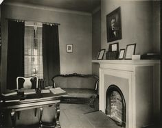 Poe Room, West Range from University of Virginia Visual History Collection ·  ·  · Albert and Shirley Small Special Collections Library, University of Virginia.