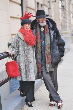 older & wiser: documentando el estilo de edad avanzada por todo el mundo | read | i-D