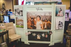 Kylee-Ann-Photography-Bridal-Faire-Booth-3 love this unique booth set up for a bridal show, great job Kylee Ann Photography