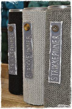 dinfantasi.no: Oppbevaring til strikkepinnene