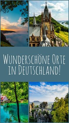 Photos that make you want to see Germany! - Sophia& world - My favorite places in Germany – now summarized in 10 pictures. What are your favorite places? Europe Destinations, Travel Around The World, Around The Worlds, Places To Travel, Places To Go, Reisen In Europa, Photography Sites, 10 Picture, Germany Travel