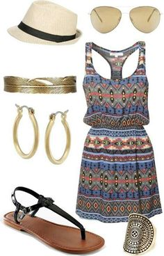Romper outfit !