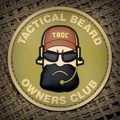 Tactical Beard.  TBOC (not technically Milspec Monkey, but a great patch)