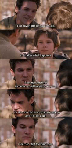 Freddie Highmore (Evan Taylor - 'August Rush') & Jonathan Rhys Meyers (Louis Connelly) - August Rush directed by Kirsten Sheridan (2007) #prodigy #rhapsody