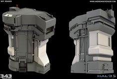 ArtStation - Halo 5 - Renders and WIP, Andrew Severson