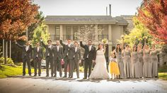 Beautiful fall weddings... Photo credit: Marked Imagery hockley.com