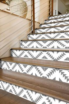 Vinyl Decals For Stair Risers - Lighthouse at dawn 31 x 8 painted stairway decoration adhesive vinyl decal stair riser panels easy to install and removable Stair riser alternative to. Stair Risers, Home, Basement Playroom, Tile Decals, Finishing Basement, Interior Design Living Room, Stairs Design, Stairs, Stairways
